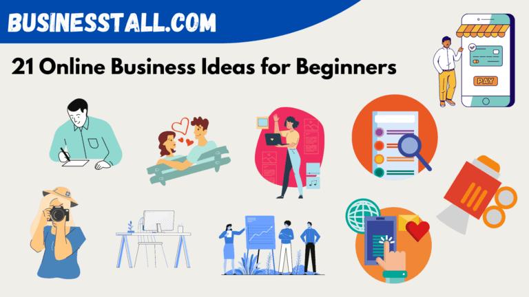 21 Online Business ideas for beginners