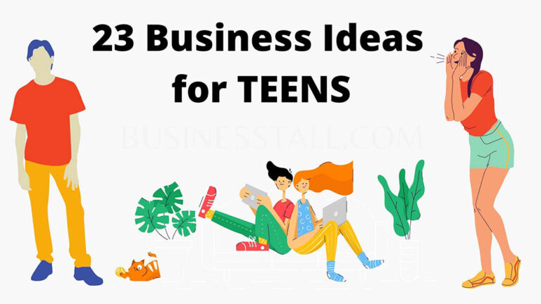 23 Business Ideas for Teens