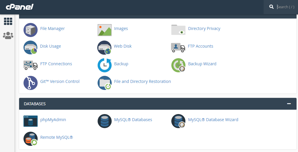 Cpanel Settings to start blogging and make money